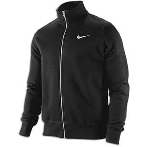 Nike Classic Fleece Swoosh Track Jacket   Mens   Casual   Clothing