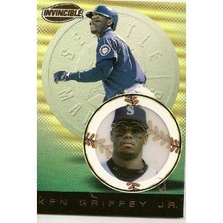 1999 Pacific Invincible #133 Ken Griffey, Jr. Sports Card