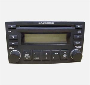 Kia Sedona Hyundai Entourage Single Disc CD Player Radio