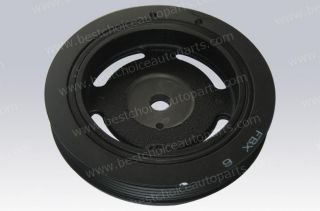 Harmonic Balancer Crankshaft Vibration Damper Pulley for 03 08 Tiburon