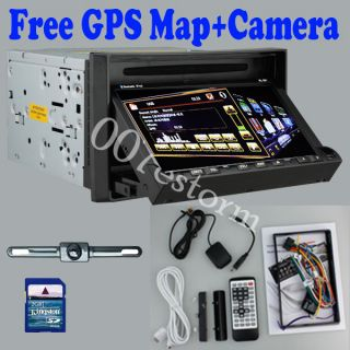 In Dash DVD GPS Navigation Player Bluetooth RDS Radio 7 HD Touchscreen