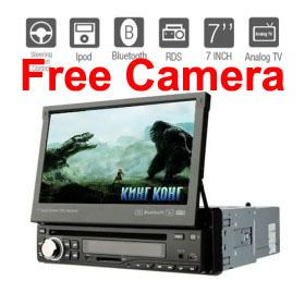 Din Touch Screen In Dash Car DVD Player Stereo Bluetooth Ipod USB