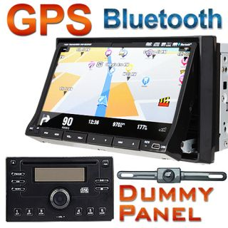 In Dash Double 2 Din GPS Navigation Car CD DVD Player Touch Screen TV
