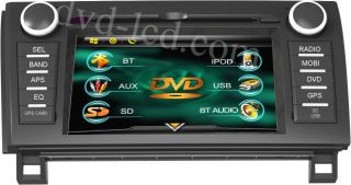 Toyota Sequoia Tundra Radio TV car DVD GPS Navigation player Headunit