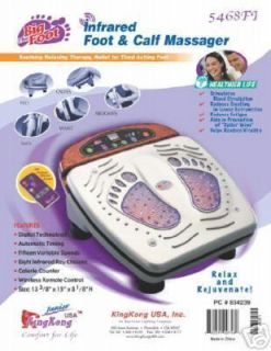 King Kong Big Foot Infrared Heat Foot Calf Massager
