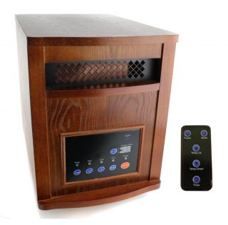 New Lifesmart LS1500 6 1500 Watt Infrared Quartz Heater
