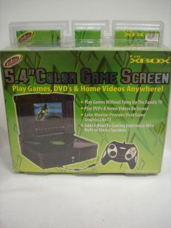 Intec 5 4 Color Game Screen for Xbox Games DVD Home Videos Brand New