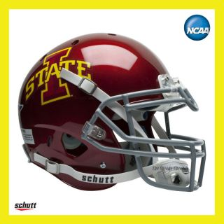 Iowa State Cyclones on Field XP Authentic Football Helmet by Schutt