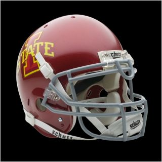 Iowa State Cyclones Authentic Football Helmet Custom