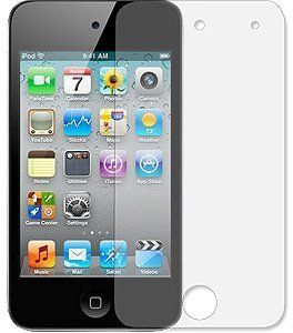 NEW 2 ANTI GLARE FINGERPRINT LCD SCREEN PROTECTOR FOR iPOD TOUCH 4 4TH
