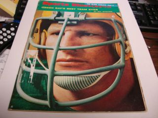 1968 Sports Illustrated Football Packers Cover OK Condi