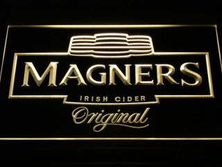 A148 Y Magners Irish Cider Bar Beer Pub Neon Light Sign