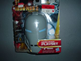IRON MAN 2 Micro Heads Mini Playsets   Iron Monger Avengers ironman by