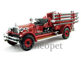 Yat Ming 1927 27 Seagrave Fire Engine Truck 1 24 Red