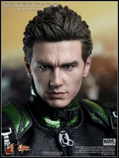original Hot Toys 1/6 12 Spider man 3 New Goblin James Franco boxset