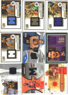 Sports Card Collection Patch Jersey Auto Rookie Lot