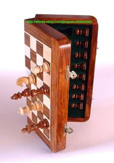 10 Handmade Folding Type Magnetic Wooden Chess Set An Affordable Gift