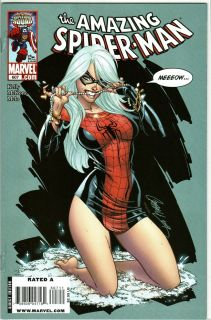 Man 607 J Scott Campbell Black Cat Mary Jane Marvel Comic