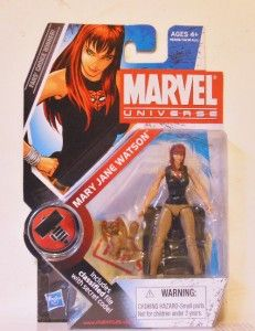 Marvel Universe Mary Jane Watson Action Figure Marvel Legends Mint in