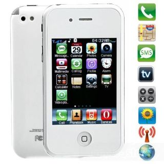 Touch Screen Dual Sim Card Unlocked Cell Phone with TV Java