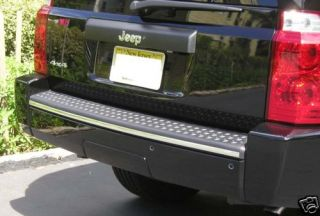 2006 06 07 08 09 10 2010 Jeep Commander Rear Bumper Edge Chrome Trim