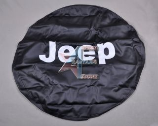 New Spare Wheel Tire Cover 32 33 for Jeep Wrangler 2002 2011 w