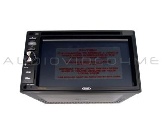Jensen VM9324 Double DIN Car Stereo CD DVD Receiver Touch iPod Player