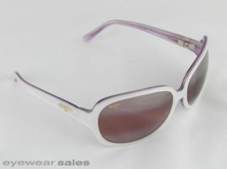 Maui Jim Sunglasses Rainbow Falls White Pearl w Lilac R225 05 New