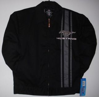 AUTHENTIC FORD MUSTANG RACING MECHANIC EMBROIDERED JACKET JH DESIGN XL