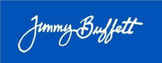 Qty 2 Jimmy Buffett Signature Car Wall Decal Sticker
