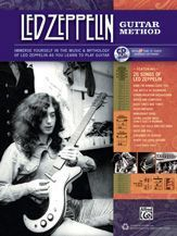 LED Zeppelin Jimmy Page Guitar Method Play Along Tab Song Book CD Set