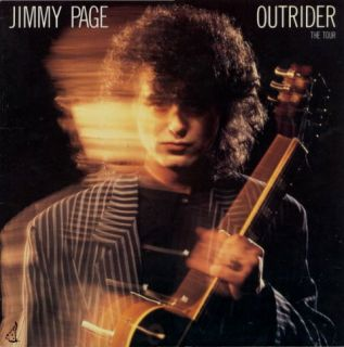 Jimmy Page 1988 Outrider Concert Tour Program Book