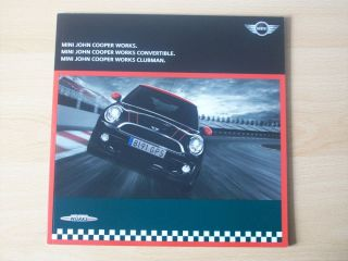 Mini The John Cooper Works Hatch Clubman Convertible Sales Brochure