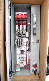 Eaton Cutler Hammer 5HP Starter Motor Controle Disconnect Switch Box