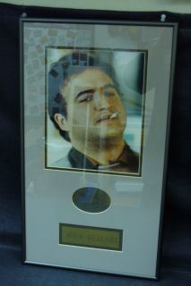John Belushi Bluto Animal House Framed Matted Autograph Signed