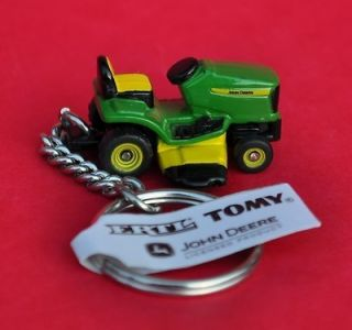 Key Chain John Deere Riding Lawn Mower