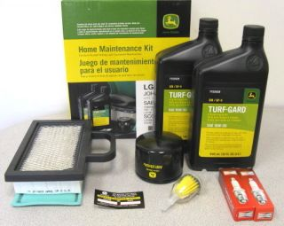 John Deere Home Maintenance Kit LG230 LA120 LA130 LA140 LA150 Scotts Sabre