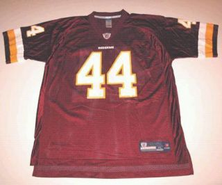 RBK Washington Redskins John Riggins Red HM Jersey XL