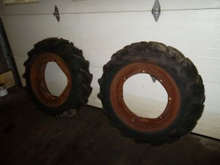 John Deere M Rear Rims and Tires