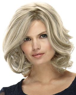 "Jon Renau Smart Lace Human Hair Wig ""Carrie"" U PK CLR"