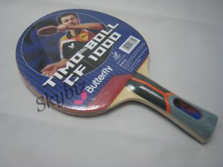 Butterfly Timo Boll CF 1000 Table Tennis Racket Paddle Bat