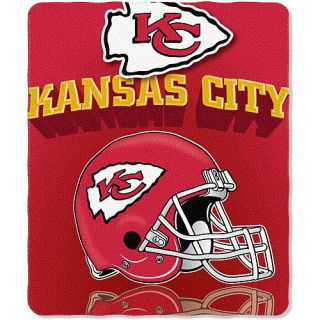Kansas City Chiefs Officially Licensed Fleece Blanket Throw NFL 50 x