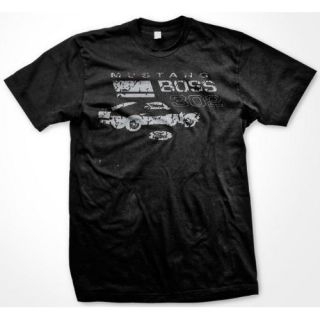 Ford Mustang Boss 302 Mens T Shirt Hot Rod Classic Car