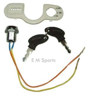 Electric Scooter Moped Bike Keys Ignition Set Parts