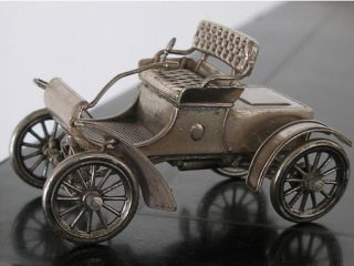 Franklin Mint Sterling Silver Miniature Car Automobile