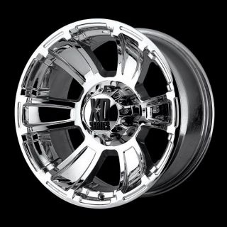 18 KMC XD Series XD796 18x9 0 Revolver Chrome Offroad Truck Wheels