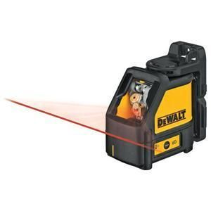 DW086 Laser Chalk Line Self Leveling Line Laser Level Only