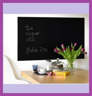ft Blackboard Chalkboard Wall Sticker Vinyl Art Decal Decor Kid Room