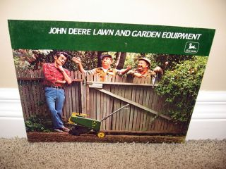 1978 John Deere Lawn Garden Equipment Brochure A65 77 9 Attachments