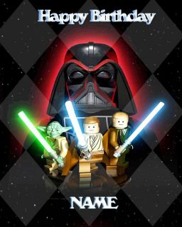 Lego Star Wars Edible Image Cake Topper